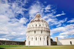 Pisa, Tuscany, Italy - view of the baptistery Royalty Free Stock Image
