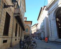 Pisa Tuscany Włochy Ulica historyczny centrum obraz stock
