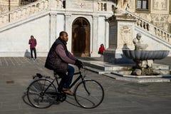 Pisa Włochy, Luty, - 26, 2017: Knights' kwadrata piazza Obrazy Stock
