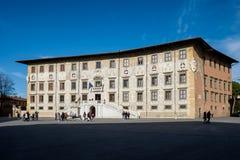 Pisa Włochy, Normale Sant, - Szkolny ` Anna w Cavalieri kwadracie Obrazy Stock