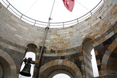 Pisa wierza wierzchołek Katedra kwadratowy Włochy Zdjęcie Royalty Free
