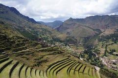 Pisac,库斯科省-秘鲁 免版税库存照片