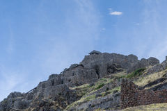 Pisac губит Cuzco Перу Стоковая Фотография