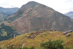Pisac Archaeological Complex Royalty Free Stock Photo