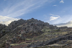 Pisac arruina Cuzco Perú Imágenes de archivo libres de regalías