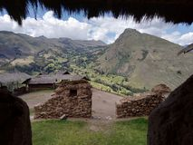 Pisac & x28; Cusco - Perú& x29; royaltyfria foton