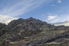 Pisac fördärvar Cuzco Peru Royaltyfria Bilder