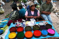 Pisac local market Stock Images