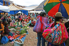 Pisac local market Stock Photos