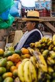 Pisac-Markt, Folklore, Peru lizenzfreie stockfotos