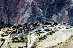 Pisac Peru Arkivfoto
