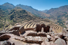 Pisac - Peru. Pisac: on the Sacred Valley of The Incas. Peru Stock Photography