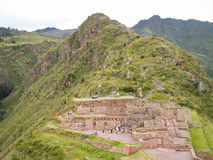 Pisac Ruin Landscape Stock Photos