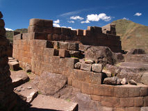 Pisac Ruins. In the Sacred Valley, Peru Stock Photography