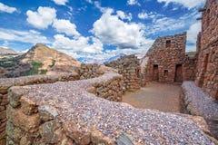 Pisac Ruins Stock Image