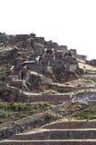 Pisac Ruins in Peru Stock Photography