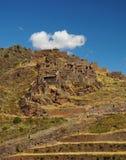 Pisac ruins. Sacred Valley, Cuzco, Peru Royalty Free Stock Image