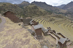 Pisac, Sacred Valley, Peru Stock Image