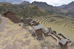Pisac, valle sagrado, Perú imagen de archivo