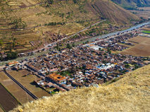 Pisac village. Near Cusco (Peru Stock Images