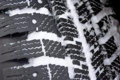 Pisada del invierno en nieve Fotos de archivo libres de regalías