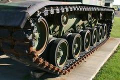 Pisada del tanque fotografía de archivo