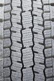 Pisadas del neumático Foto de archivo