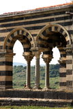 Pisan Romanesquearchitektur Stockbilder