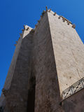 Pisana-Turm in Cagliari Stockfotos