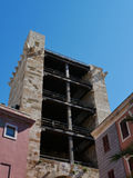 Pisanatoren in Cagliari stock afbeeldingen