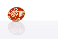 Pisanica is a decorated Croatian Easter egg. Stock Photography