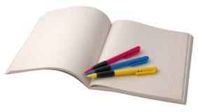pisanie książki Fotografia Stock