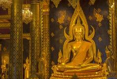 De belangrijkste zaal van Wat Thardtong Stock Afbeelding