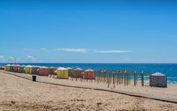 Pisao beach in Santa Cruz, Portugal. Stock Image