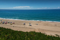 Pisao beach in Santa Cruz, Portugal. Stock Photo