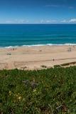 Pisao beach in Santa Cruz, Portugal. Royalty Free Stock Images
