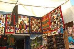 Pisaq peru market Royalty Free Stock Image