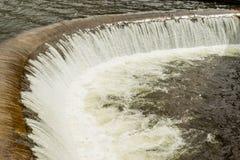 Pisayambo水坝在中央厄瓜多尔 免版税库存照片