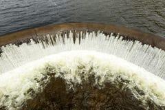 Pisayambo水坝在中央厄瓜多尔 库存图片