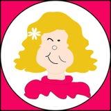 Pisc a face Imagem de Stock