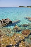 Piscadeddus, Villasimius, Sardinia, Italy Royalty Free Stock Photos