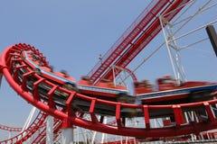 Piscamento vermelho do Coaster Fotos de Stock
