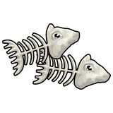 Pisces with clipping path. Illustration with clipping path Royalty Free Stock Photos
