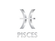 Pisces sign Stock Photography