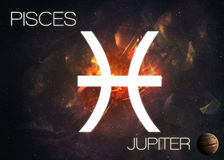 pisces zodiac σημαδιών Στοκ φωτογραφία με δικαίωμα ελεύθερης χρήσης