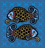 Pisces zodiac Royalty Free Stock Photo