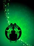 Pisces zodiac background Stock Photo