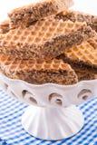 Pischinger (le chocolat oblaten le gâteau) Photos libres de droits
