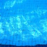 Piscina/água azul Imagem de Stock Royalty Free