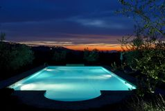 Piscina Immagine Stock